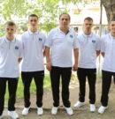 Reprezentacioni i Kosovës në Boks me 4 boksier 1 trajner dhe 1 gjygtarë pjesmarrës në Lojrat Mesdhetare në TARRAGONA 2018