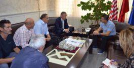 Takim i Fboxk me kryetarin e k.k.Mitrovicës z.Agim Bahtiri