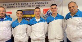 BOKSIERËT E KOMBËTARËS SË KOSOVËS TË GATSHËM PËR KAMPIONATIN BOTËROR NË BEOGRAD 24 TETOR – 06 NËNTOR 2021